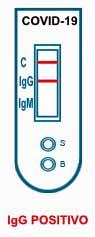 Test sierologico IgG positivo